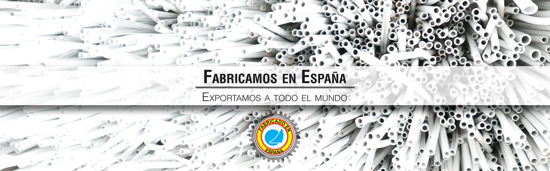 Fabricamos en España, Exportamos a todo el mundo