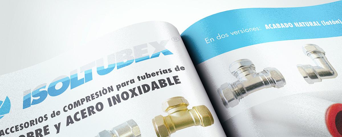 ACCESORIOS de COMPRESION para tuberías de COBRE y ACERO INOXIDABLE